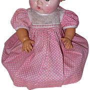 "Sweet Dress for 11"" Dy-Dee or Tiny Tears or Betsy Wetsy Doll"