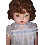 Effanbee Mae Starr Talking Phonograpgh Composition Doll w/Cylinder ~ Works ~ Gift Giving ...