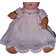 "Authentic Effanbee Dy-Dee Baby Dress w/ mathcing slip fpr 15"" Doll"