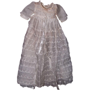 "Authentic Effanbee Dy-Dee Long Baby Gown for 11"" Doll"