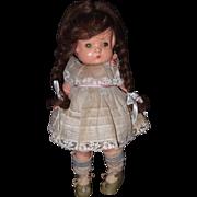 Effanbee Wigged Sleep Eye Patsy Composition Doll