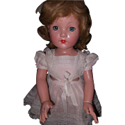 "27"" Effanbee factory Little Lady Composition Doll"