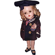 SOLD Factory Tagged nancy Sailor by Arranbee Composition Doll