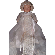 Madame Alexander Sleeping Baby Tagged Composition Doll
