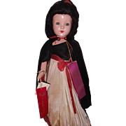 "Effanbee 27"" Little Lady ""Snow White"" Composition Doll"