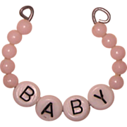 Vintage Layette Bracelet for Dy-Dee or Dy Dee or Tiny Tears Doll