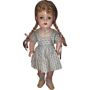 "Nice 16"" McGuffey Ana Composition Doll by Madame Alexander"