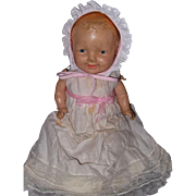 SOLD Adorable Very Early Composition Baby Doll