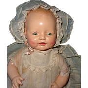 Beautiful Factory Orig. Tagged Composition Horsman Dimples Baby Doll