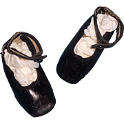 Nice Doll Shoes for Large Bisque or Composition Dolly