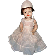 Early Composition German Look Carni Doll