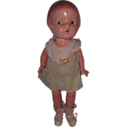 American Character A/O Petite Sally Composition Doll