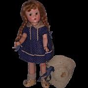 Factory Original Suzette Composition Doll