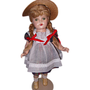 "20"" Factory McGuffey Ana w/Box Composition Doll by Madame Alexander"