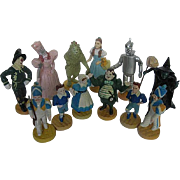 Wizard of Oz 1966 MGM - 1987 Turner figures - Set of 12