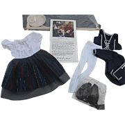 "The Shirley Temple Dress Up Doll Outfit from the Movie ""Blue Bird"" - Danbury Mint -"