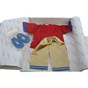"The Shirley Temple Dress Up Doll ""Stowaway"" Outfit - Danbury Mint - Original Box - 1"