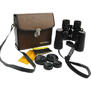 Bushnell 7 to 21 40mm Vintage Binoculars - Insta-Focus - Zoom with Leather Carrying Case