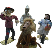 Wizard of Oz - Ashton Drake Galleries Dolls - 1994 - Dorothy, Tin Man. Scarecrow and The Cowar