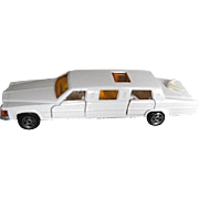 Mojorette White Limousine No.339 Toy - Made in France