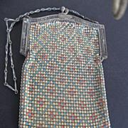 SALE Vintage Whiting & Davis Mesh Bag - art deco  - 1932 - 1936 era