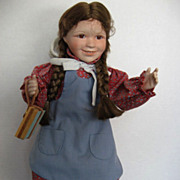"SOLD ""Laura"" Ingalls from  ""Little House on the Prairie"" - by Ashton Drake"