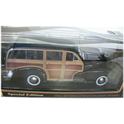 "Maisto 1948 Chevrolet Fleetmaster Wagon - ""Woody"" 1:18 scale - Special Edition"