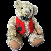 Vintage Hallmark Card Toy Teddy Bear