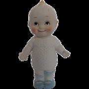 """Adorable Kewpie 6"""" Ceramic Figurine by Shackman - made in Japan"""