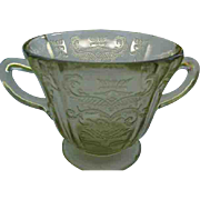 Madrid  Depression Glass Sugar Bowl