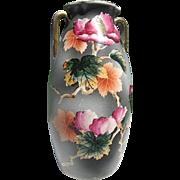 Royal Nippon Nishki Large Floral Vase - made in Japan