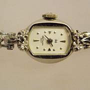 40s-50s Lady Hamilton 14k Diamond Watch