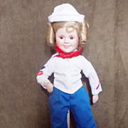 1989 Danbury Mint Captain January  Shirley Temple Doll