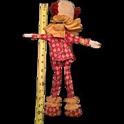 Mid-Century Clown Puppet
