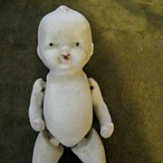 "5 1/2"" Jointed Bisque Baby Boy Doll"