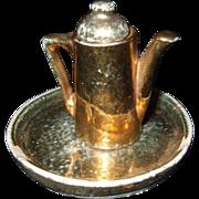 Vintage Japanese Miniature Tea Pot and Tray