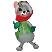 Large Annalee Christmas Mouse