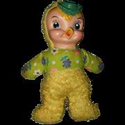 Vintage My Toy Cloth Duck