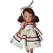 SALE Nancy Ann Storybook #110 Little Miss, Sweet Miss, Blessings Light on You