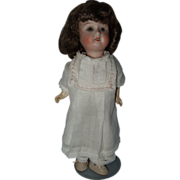 REDUCED Cabinet Size German Bisque Head Doll
