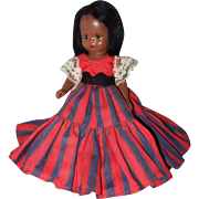 Nancy Ann Storybook Hard Plastic Black Doll