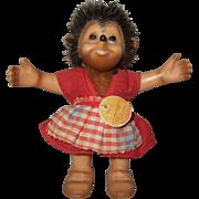 Miniature Steiff Macki Hedgehog