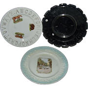 Antique Child's ABC Plates