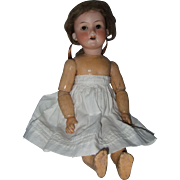 Cabinet Size Armand Marseille #390 Bisque Head German Dolly Face Doll
