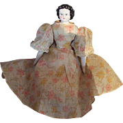 Cabinet Size,Modified Flat Top, German, China Head Doll