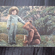 Vintage Teddy Bear Post Card