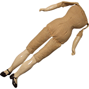 Cloth Body with Bisque Limbs