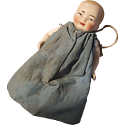 German, Miniature, All Bisque Baby
