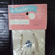 "Premier Doll Jewelry circa 1950""s"
