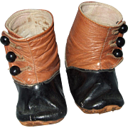 Antique, Leather, Baby Boots